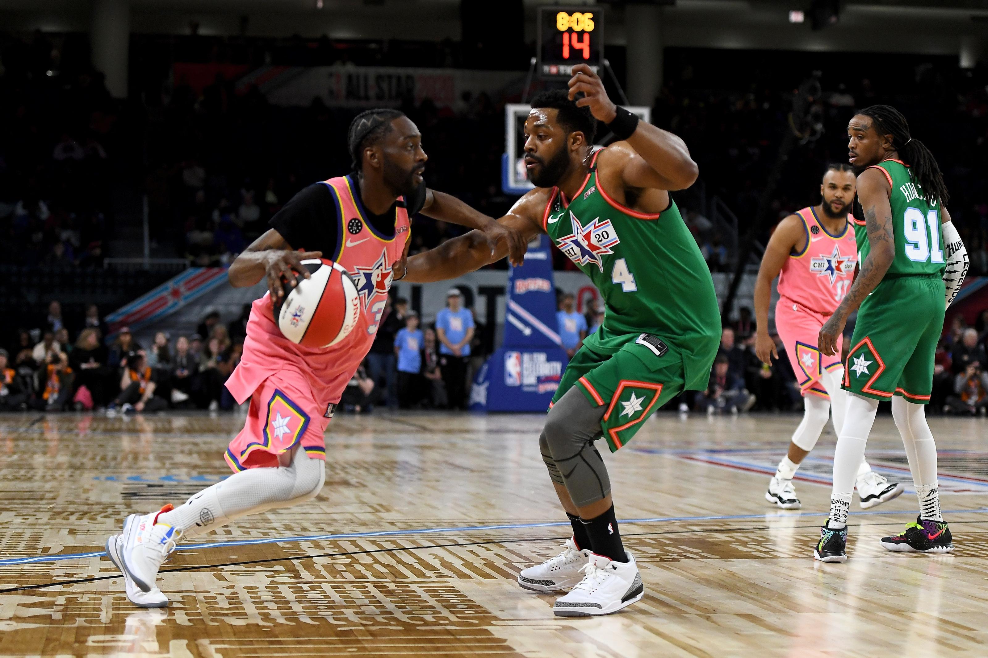 Watch Chicago PD's LaRoyce Hawkins NBA All-Star Celebrity ...